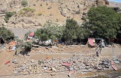 تخریب بناهای غیرمجاز حریم رودخانهها